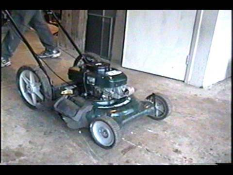 Craftsman 5.5hp Lawnmower Carburetor Clean & Rebuild