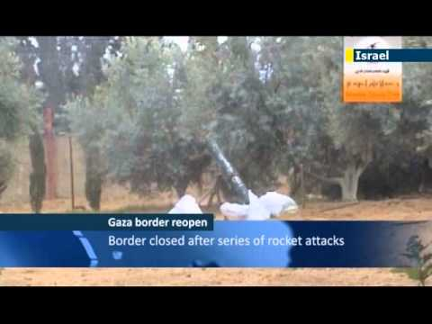 Israel reopens Gaza border crossing: temporary closure due to Gaza rock attacks