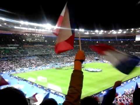 La joie avant le drame ( France vs Allemagne 13/11/2015)