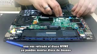 Abrir Lenovo T470   X270   Cambiar ampliar RAM, Disco Duro SSD, reset BIOS