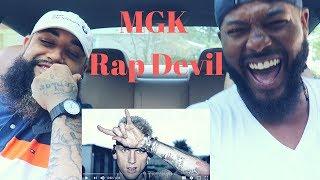 "Machine Gun Kelly ""Rap Devil"" (Eminem Diss) | REACTION"