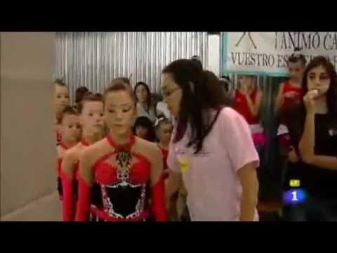 Reportaje de gimnasia rítmica en Comando Actualidad