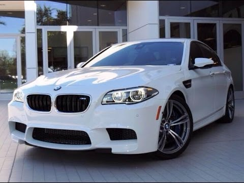2014 BMW M5 F10 Start Up. Exhaust and In Depth Reviews