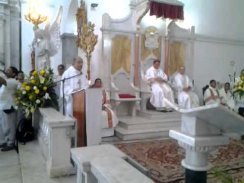 El Vicario Pastoral de Santa Marta le presentó la Diócesis al nuevo Obispo