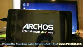 OpenAOS Multiboot and Gingerbread on Archos Gen8 devices