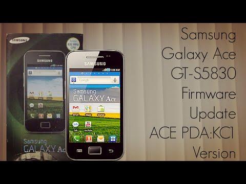 Samsung Galaxy Ace GT-S5830 Firmware Update ACE PDA:KC1 Version