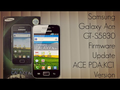 Samsung Galaxy Ace GT-S5830 Firmware Update ACE PDA:KC1 Version