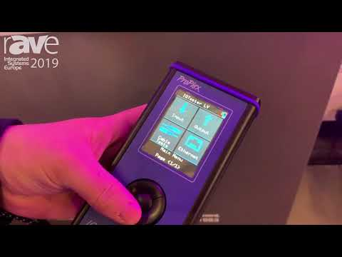 ISE 2019: TMB Exhibits ProPlex IQ Tester LV Ethernet Tester for Entertainment Production Application