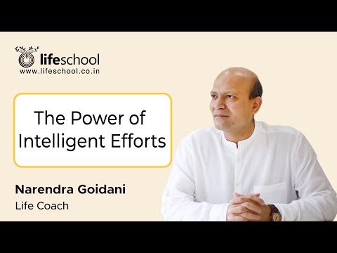 Intelligent Efforts (in Hindi) - Motivational, Inspirational Training - Narendra Goidani video