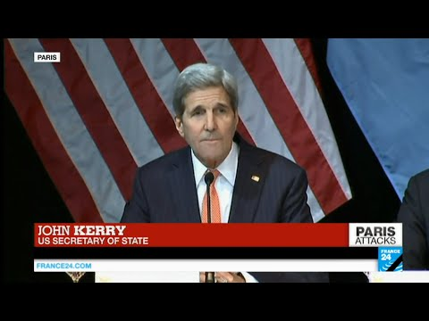 "John Kerry reacts to Paris attacks: ""the world witnessed the incarnation of evil"""