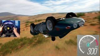 Forza Horizon 3 GoPro 300+Mph Club Jaguar D Type Top Speed Run Pt3