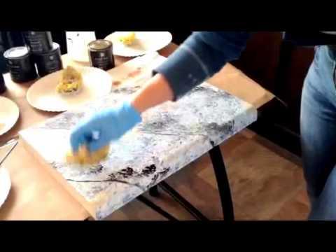 Giani Countertop Paint Youtube : How to Apply The White Diamond Kit? by Giani Granite? - YouTube