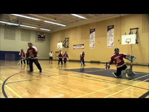 Floor Hockey - Shooting