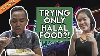 BEST HALAL FOOD GUIDE AT THE RAMADAN BAZAAR 2017! | TSL Vlogs