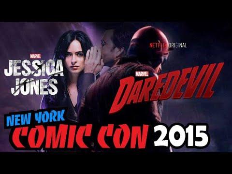 Marvel Netflix Daredevil & Jessica Jones Panel NYCC 2015