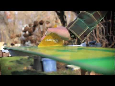 MADNESS TV - How To Wax A Snowboard