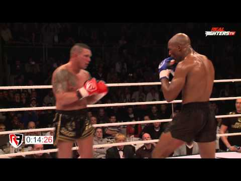 Fred Sikking vs Redouan Cairo Real Fighters AN2R 2014