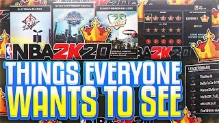 EVERYTHING 2K20 NEEDS TO BECOME THE GREATEST GAME EVER! ( MIKE WANG WATCH THIS )