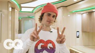 Download lagu Inside Justin Bieber's Tour Bus | GQ
