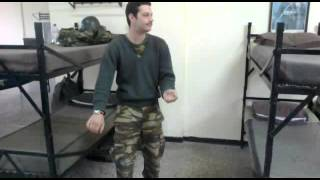 Lefteris mitsopoulos imitate  army time