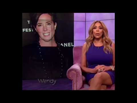 WENDYS WILLIAMS SPEAKS ON FASHION DESIGNER KATE SPADE'S DEATH
