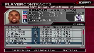 ESPN NFL 2K5 BILLS SEASON OFF-SEASON - THIS DRAFT THOUGH