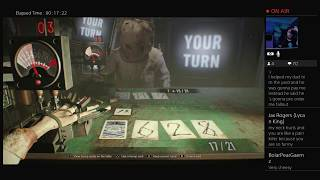 The Most Twisted Game Of Blackjack EVER!   RE7: Banned Footage Vol 1  [Live Stream]
