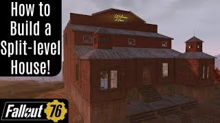 Fallout 76: Split-Level House Building Guide!