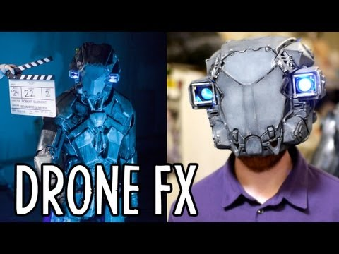 "Building the Robot Suit from ""DRONE"" (Behind the Scenes) : Indy News"