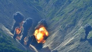 US warplanes conduct bombing drills on Korean peninsula