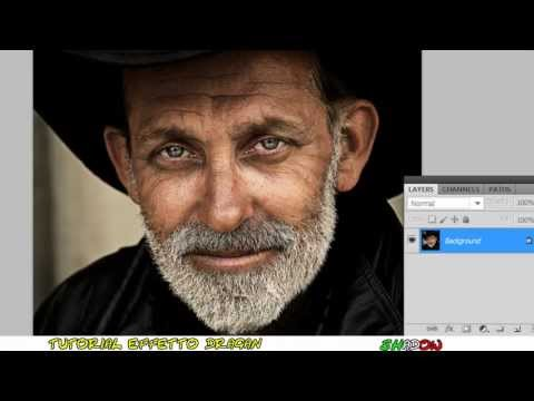 Tutorial Photoshop CS5 – Effetto dragan