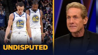 Skip Bayless on the NBA Playoffs: 'I am taking the field' over the Warriors | NBA | UNDISPUTED