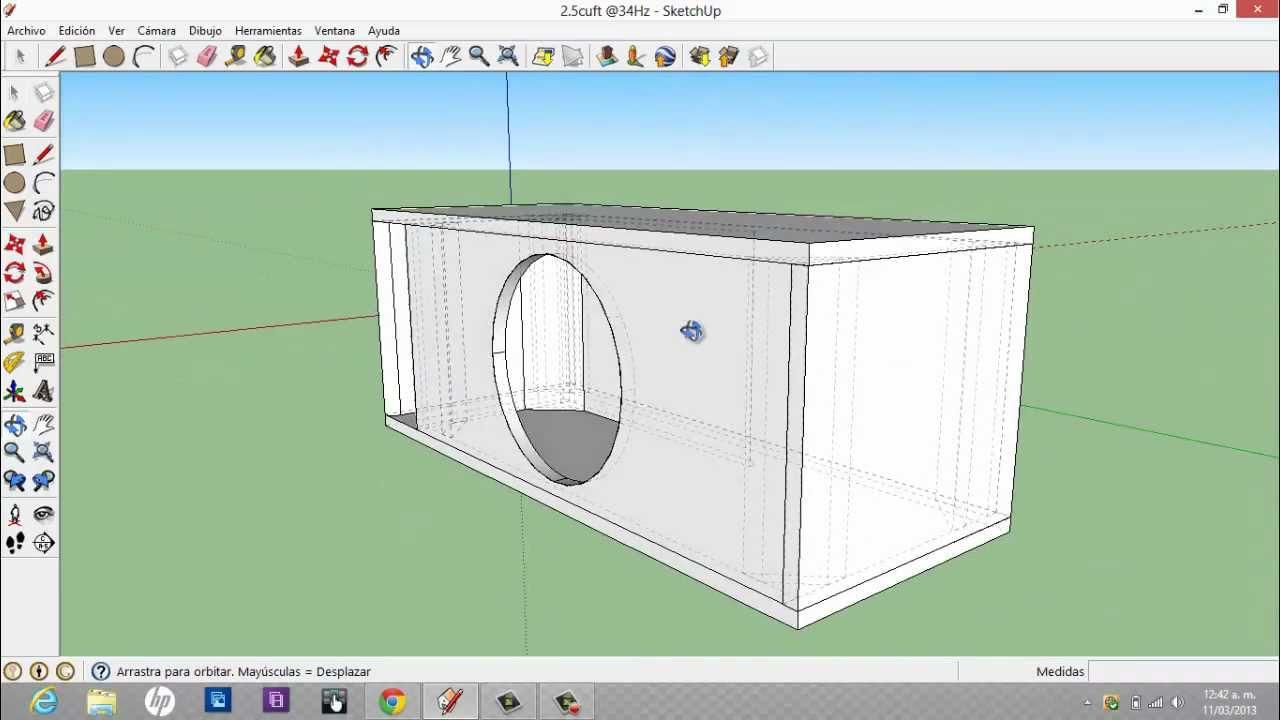 Recomendaciones software de apoyo cajas acusticas for Programa para hacer planos en 3d online