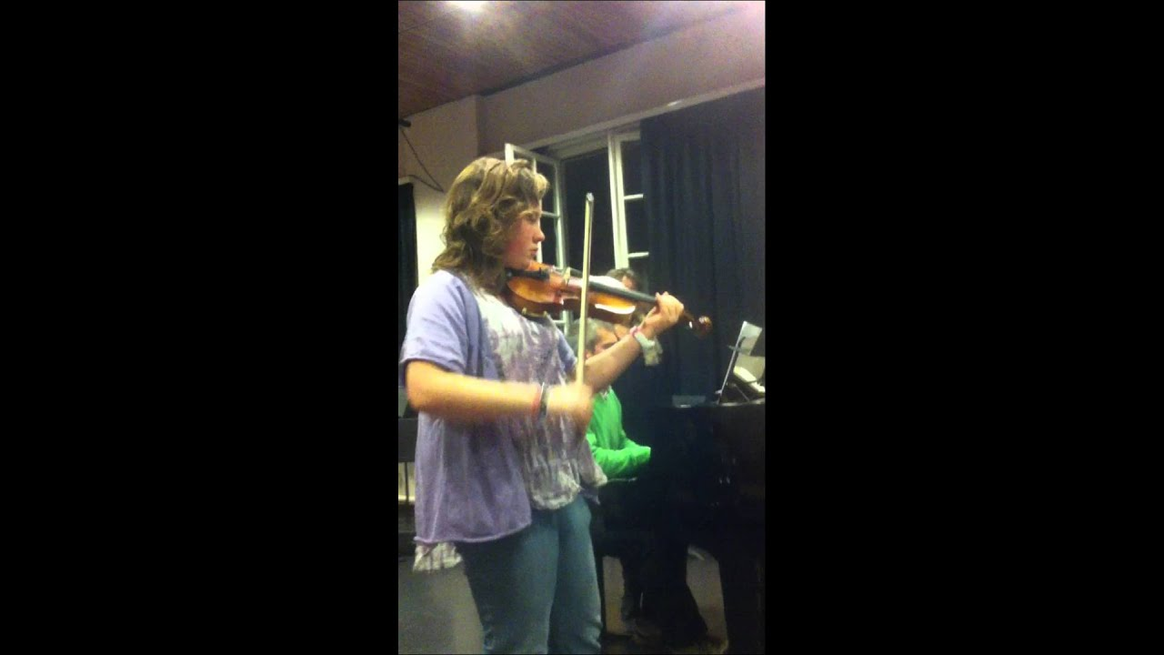 Sonate Jean Baptiste Senaill� door Yara Peeters - YouTube