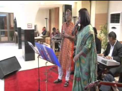 ROZ ROZ  ANKHO TALE SUNG BY MADHUMITA ACHARYYA BISWAS AND DEBU...