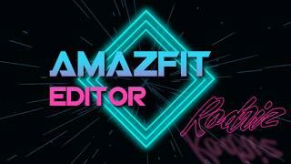 Editor de WatchFace de Amazfit