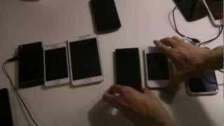 HTC One X vs. Samsung Galaxy Note vs. Galaxy S2 vs. Apple iPhone 4S vs. Sony Xperia S vs. Nokia