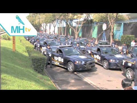 La SSP-DF entrega 95 patrullas a Miguel Hidalgo