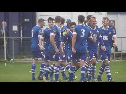 Hertford Town FC VS Brentwood Town FC - Bostik North Division