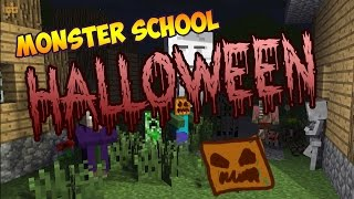 Monster School - TRICK OR TREAT! [Minecraft Animation]