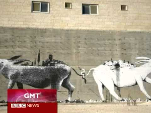 BBC World News   William Parry, Against The Wall:  The Art of Resistance in Palestine