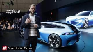 Peugeot Instinct Concept [SALON GENEVE 2017] : autonome et sexy