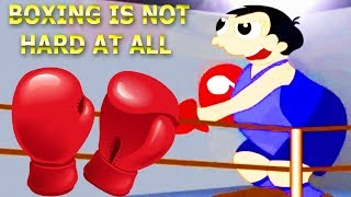 Boxing is Not Hard At All Song For Children | 3D Dancing is Not Hard At All Rhymes For Kids