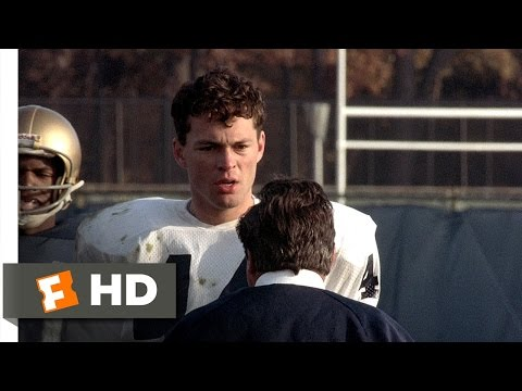 Rudy (3/8) Movie CLIP - Rudy Sacks O'Hara (1993) HD