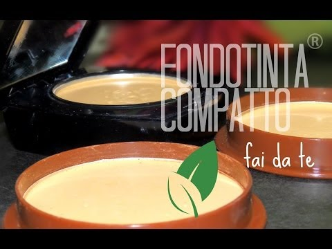 Come fare il mio *Fondotinta Compatto* Coprente e Mat fai da te! Diy Compact foundation