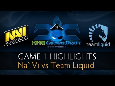 Dota 2 Na`Vi vs Team Liquid - Game 1 Highlights - The XMG Captains Draft Invitational