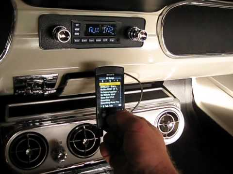 65 Mustang Convertible >> 65 Mustang Convertible sound system upgrades - YouTube