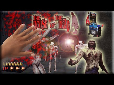 Аркадный автомат «The House of The Dead» от Sega
