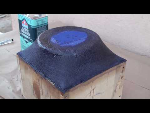 How to fiberglass (subwoofer enclosure)