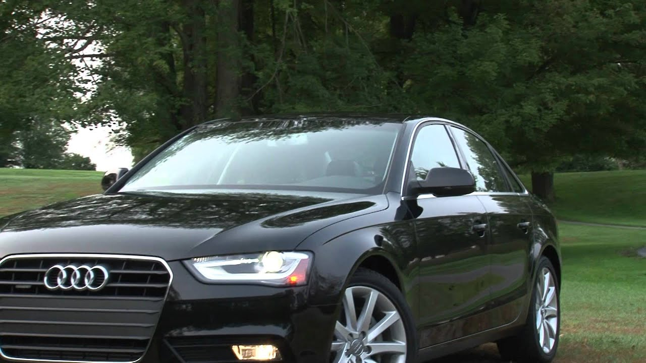 2013 Audi A4 - Drive Time Review with Steve Hammes - YouTube